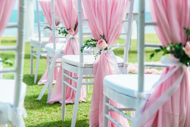Pink Drapes