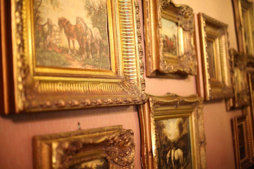 Antique artworks