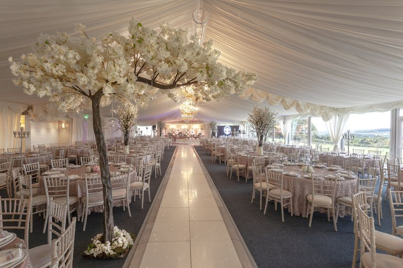 Asian Wedding in The Orchard Marquee