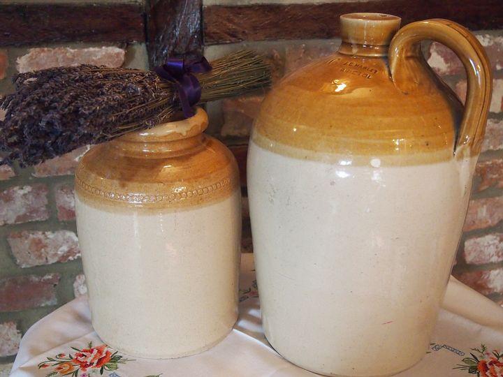 Good old gin jars