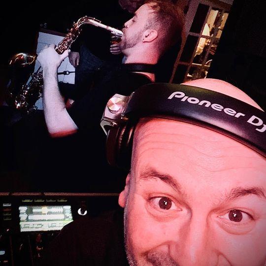 DJMG + Sax