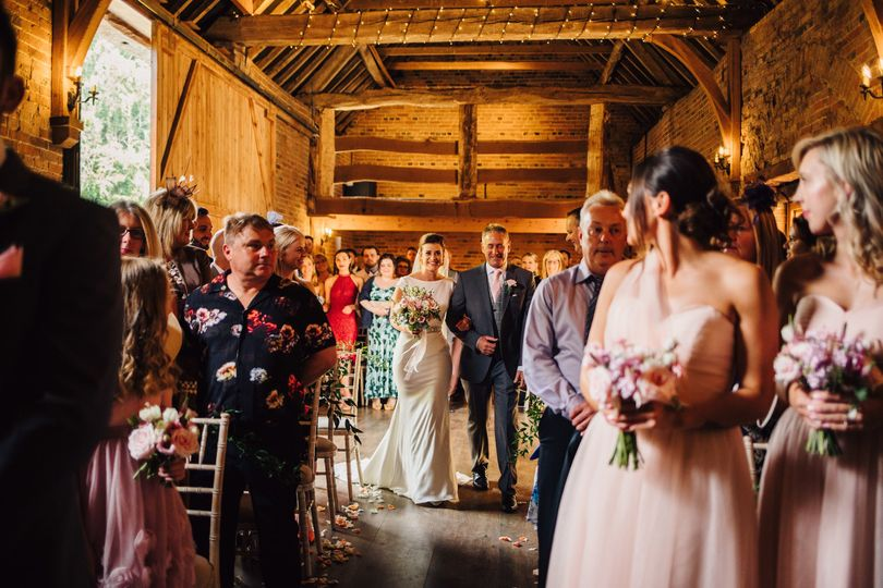 Dovecote Barn ceremony