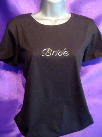 Swarovski Crystal Bride T-Shirt