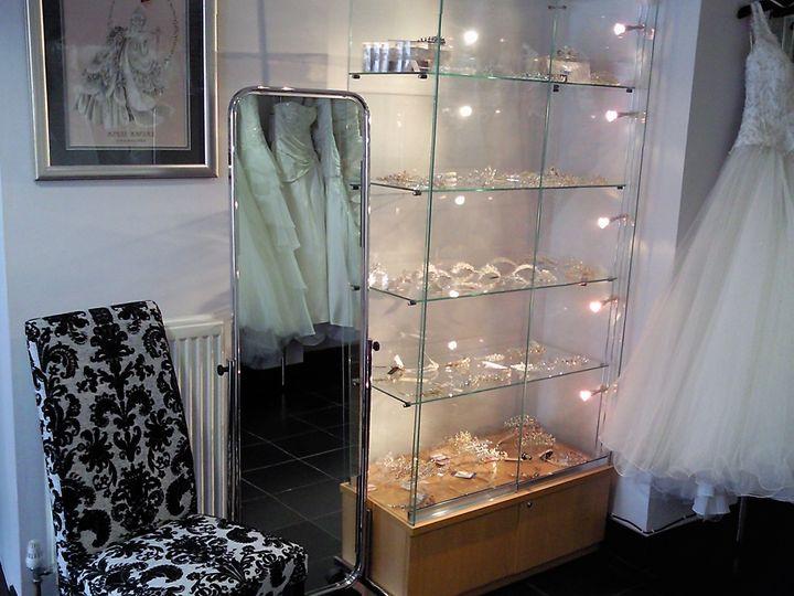 Beautiful tiara cabinet