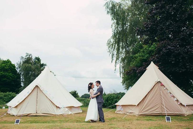 Warwickshire bell tent
