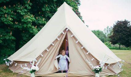 Warwickshire bell tents 1