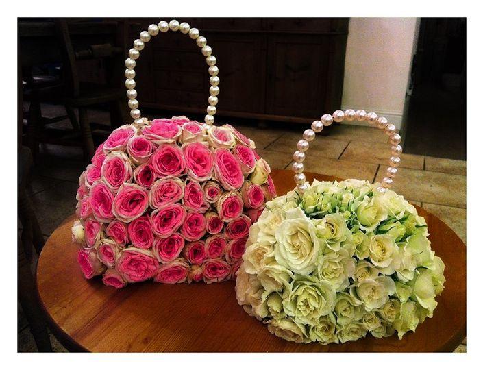 Flowergirl handbags