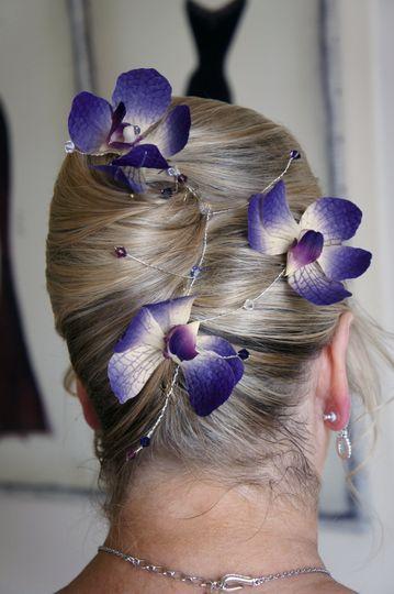 Vanda orchid hair vine
