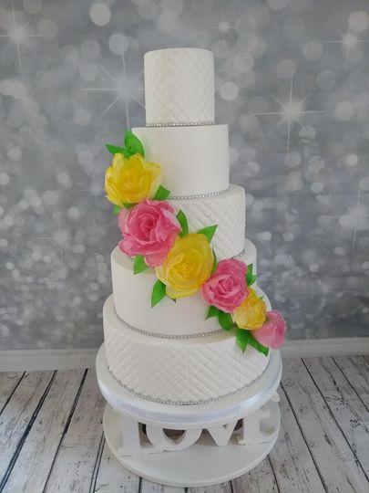 Sugar paper flowers