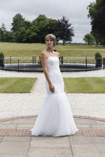 'Samantha' sample dress