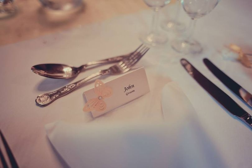 Name/ place cards butterfly