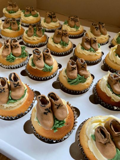 Bespoke and personal cupcakes