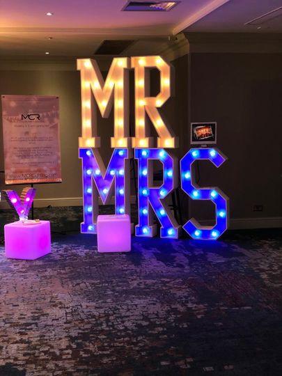 Decorative Hire MCR Lighting 31