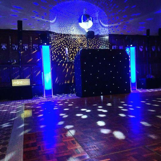 Stylish DJ set-up