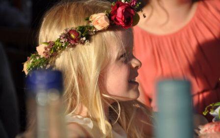 Lovely bridesmaid