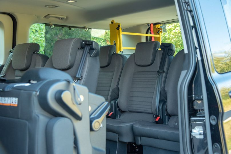 Van inside