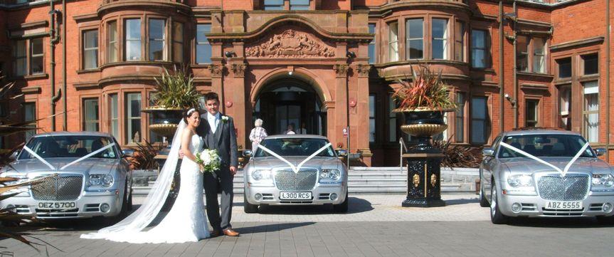 Three Chrysler Wedding