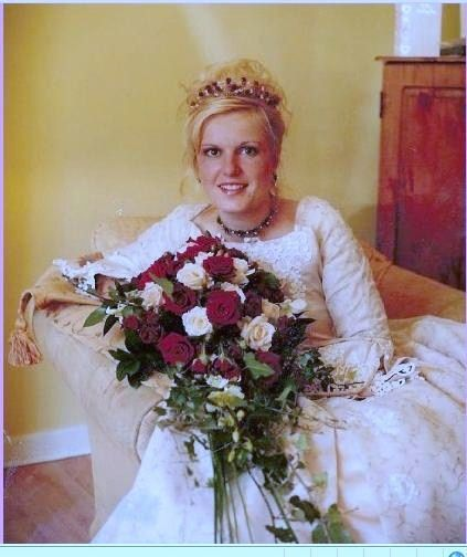 One of our 'Just Gorgeous' Brides