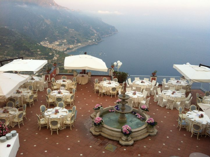 Overview wedding setting