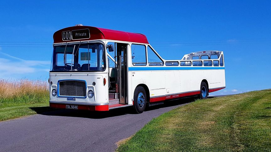 "1971 Open-top bus - ""Eric"""