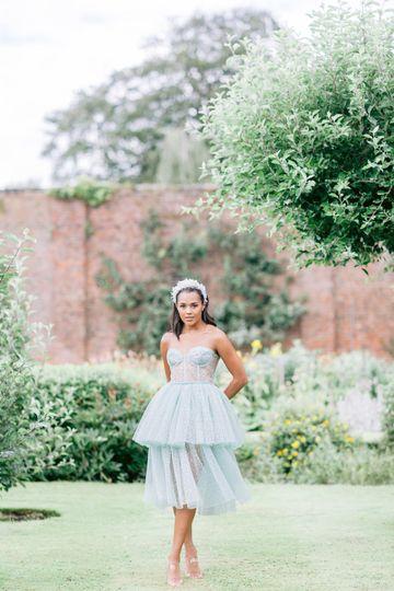Short and sweet midi dress