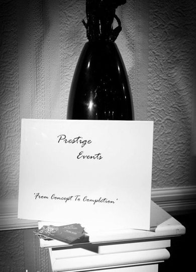Prestige Events 'FROM CONCEPT TO COMPLETION'