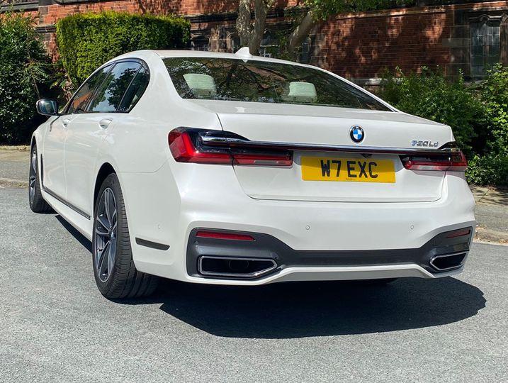 BMW 730 M Sport wedding limosine