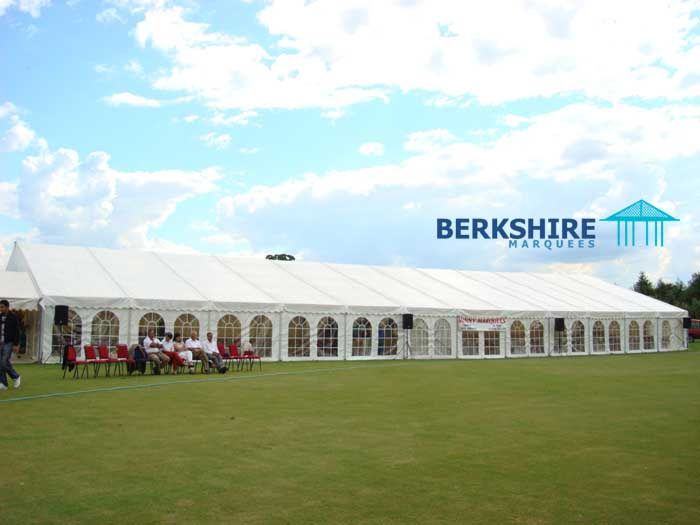 Outside marquee in berkshire