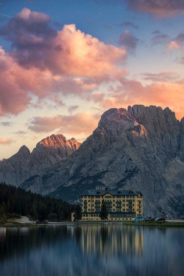 Remote Italian lakes