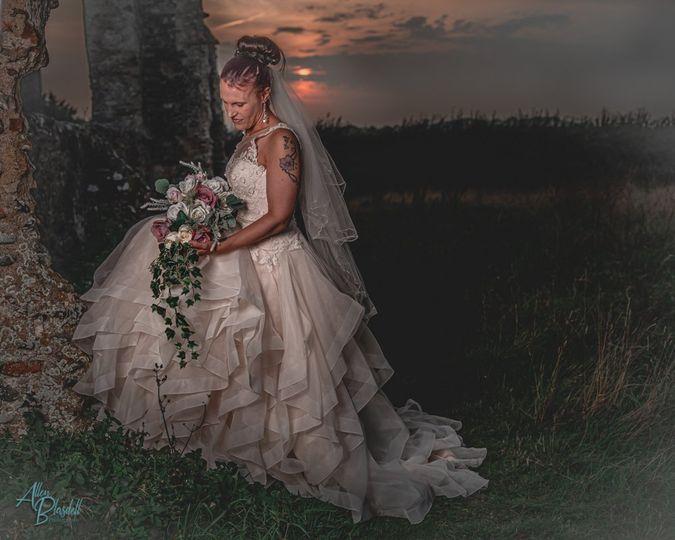 Sunset bride