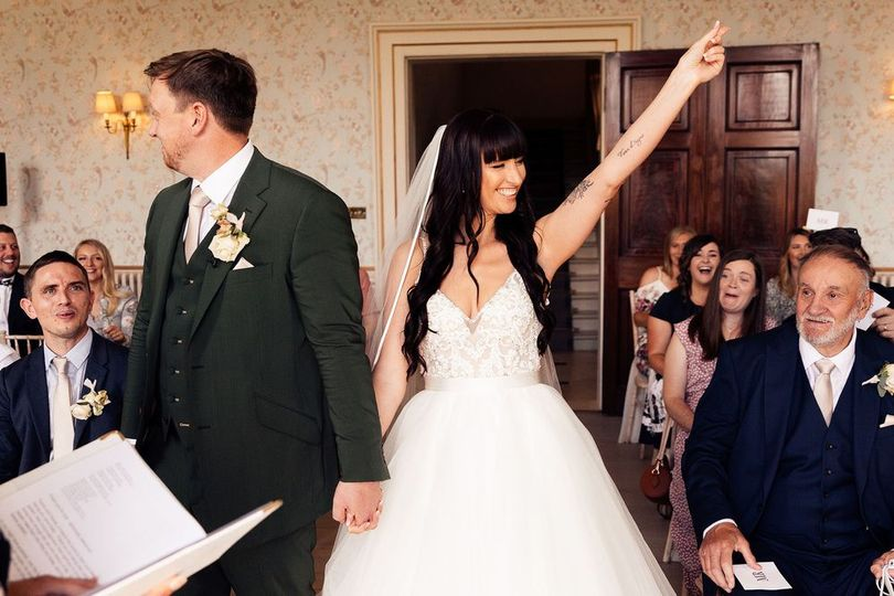 Sam and Adam's wedding