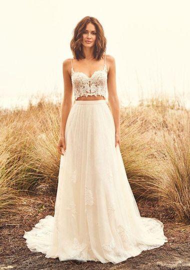 Bridalwear Shop ~ White Lace & Butterflies