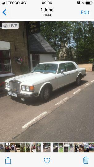 Bentley 8 white trim