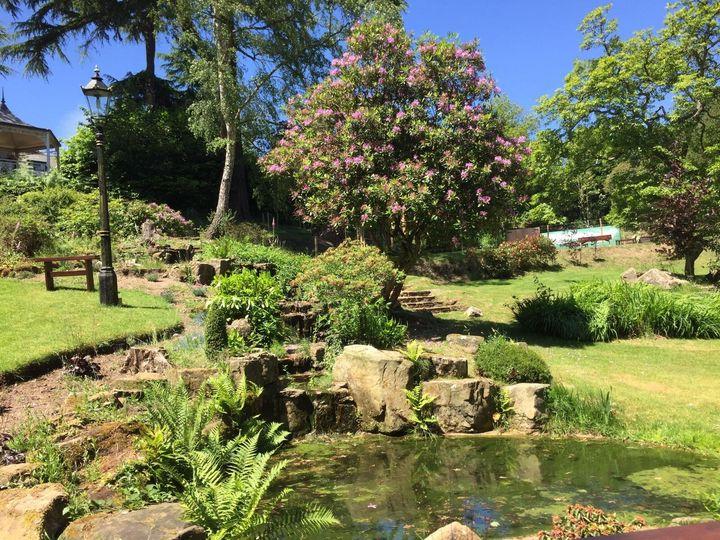 Secret garden, couple photos
