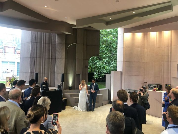 N&W Serpentine real wedding