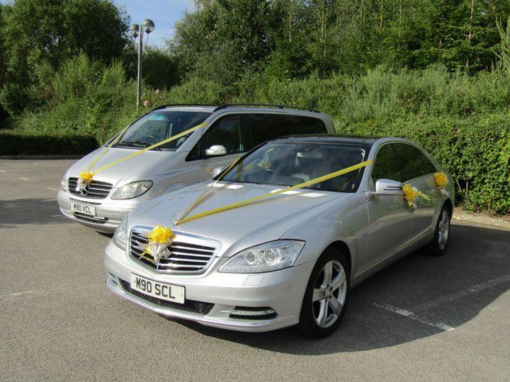 Modern Mercedes S class