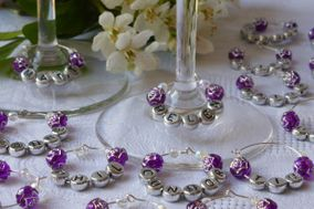 Wine Glass Charms By Mrs Nicsy