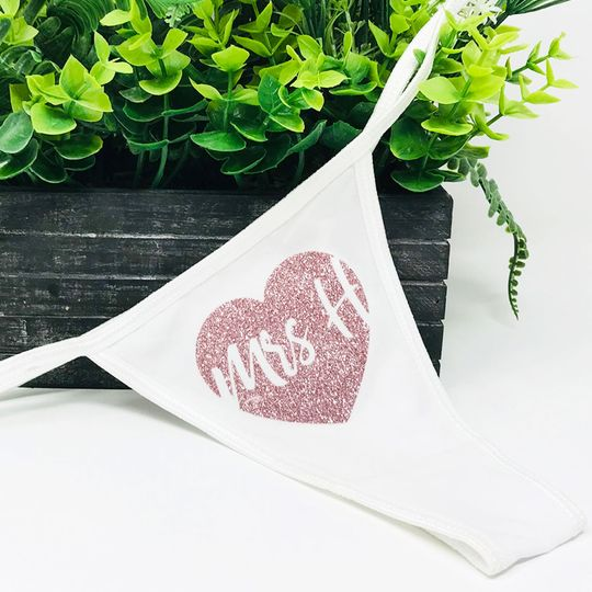Personalised Hen Party Thong