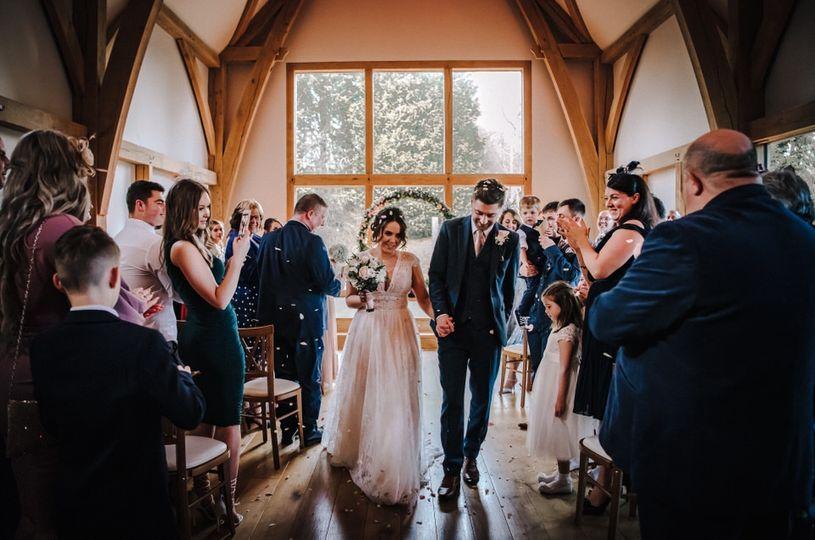 Newlyweds - Rose and Rainbow Photography