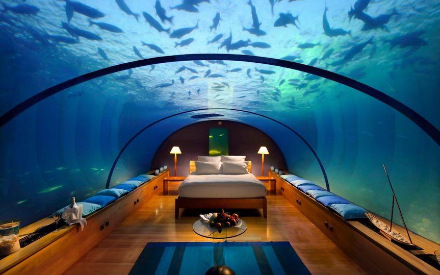 Under water room
