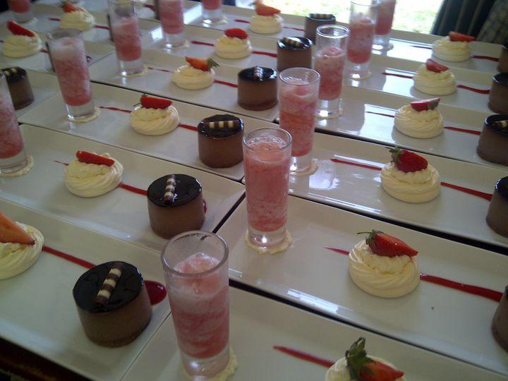 Assiette (Trio) of Dessert