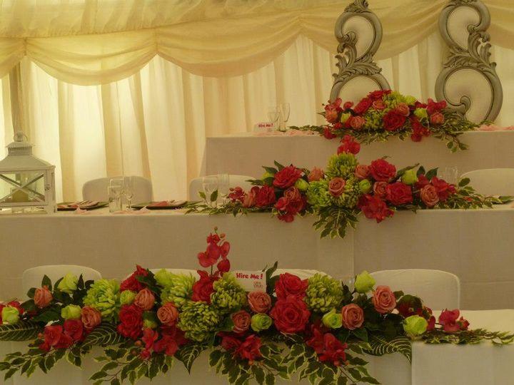 Wedding thone hire