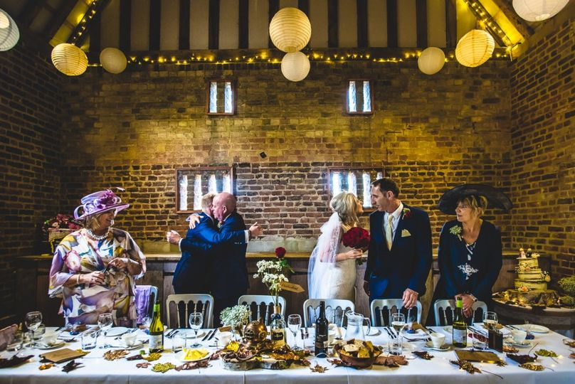 Head table - Damien Vickers Photography