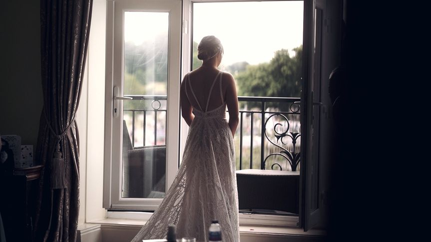 Bride anticipation dress