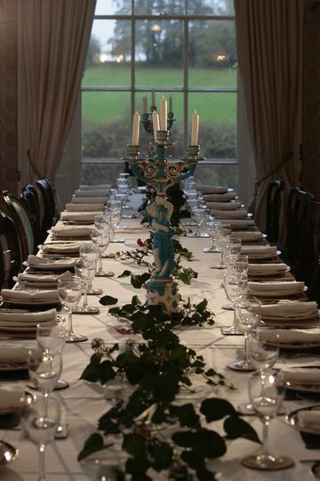 Long table, the Dining Room