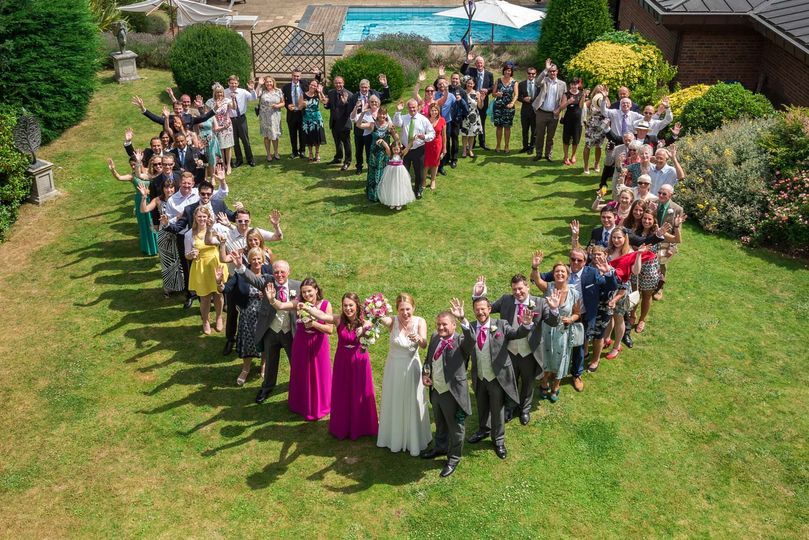 Heart-shaped gathering