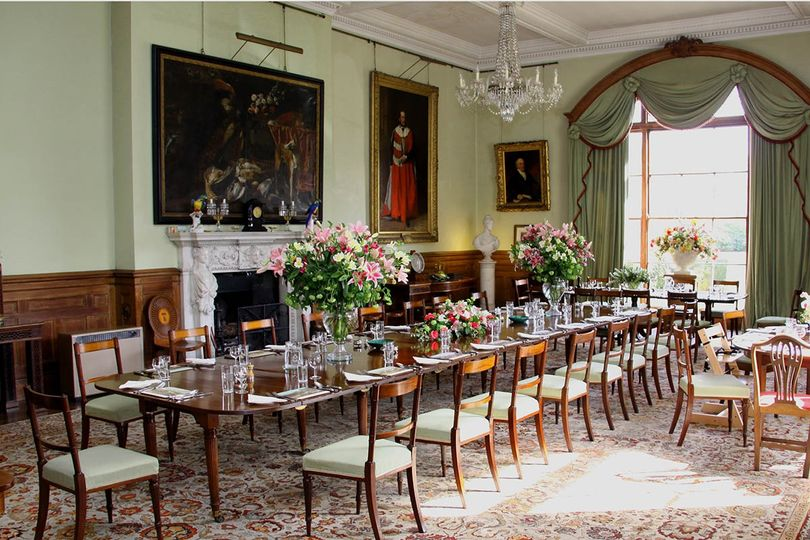 Birdsall House Dining Room ready for a celebration lunch