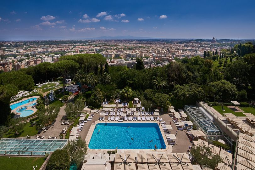 View from the Rome Cavalieri