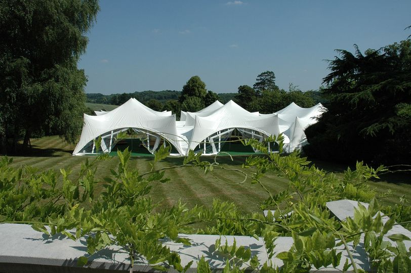 Three Marquees Joined Together