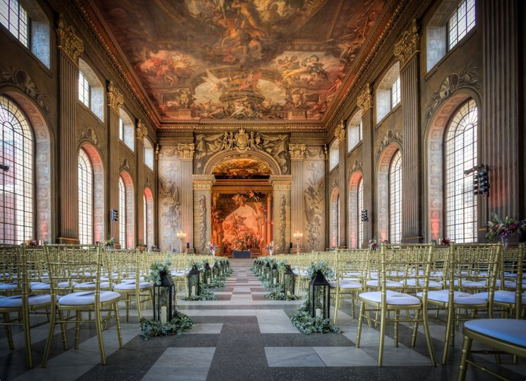 The Painted Hall, Old Royal Naval College, Greenwich 1